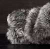 Покрывало меховое EXOTIC FAUX FUR OVERSIZED BED THROW - SIBERIAN GREY FOX Restoration Hardware США