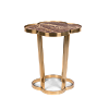 Приставной столик IT'S MARBLELICIOUS SIDE TABLE BM23008 Bold Monkey НИДЕРЛАНДЫ
