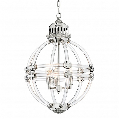 Подвесной светильник Chandelier Impero nickel finish 111039 Eichholtz НИДЕРЛАНДЫ