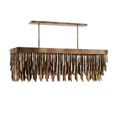 Люстра Waldorf Rectangular Chandelier 89439 Arteriors Home США